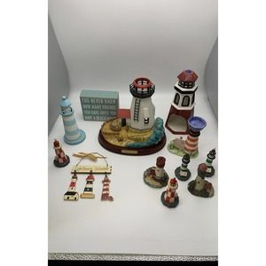 12 piece lighthouse collection